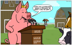The pig and its promises